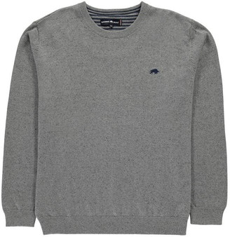 Raging Bull Cotton Cashmere Crew Neck Jumper
