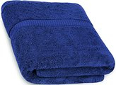 Ringspun Cotton Bath Towels (Blue, 30 x 56 Inch) Luxury Bath Sheet Perfect for Home, Bathrooms, Pool and Gym Cotton by Utopia Towels