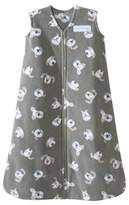 Halo SleepSack Micro Fleece Wearable Blanket, Gray Pooch, Small