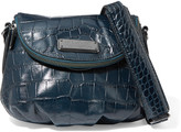 Marc by Marc Jacobs Natasha croc-effect leather shoulder bag
