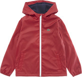 Lacoste Hooded raincoat 4-16 years