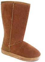 Camel Shimmer Bella Boot
