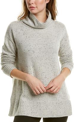 Lafayette 148 New York Funnel Neck Wool-Blend Sweater
