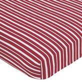 JoJo Designs Sweet Treasure Cove Pirate Fitted Crib Sheet - Stripe