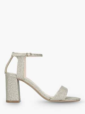 f2a2ed0d64a32 at John Lewis and Partners · Carvela Kiki Block Heel Sandals