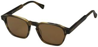 Raen Aren 50 (Fog Crystal/Bottle Green) Sport Sunglasses