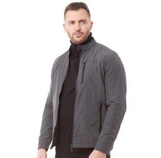 Ted Baker Mens Macand Lightweight Harrington Jacket Grey