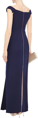 Roland Mouret Draped Stretch-crepe Gown