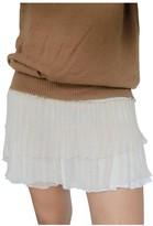 Anine Bing Beige Silk Skirt for Women