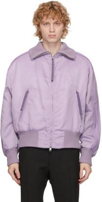 HUGO BOSS Purple Nylon Exit Jacket