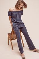 Cloth & Stone Damienne Off-The-Shoulder Jumpsuit