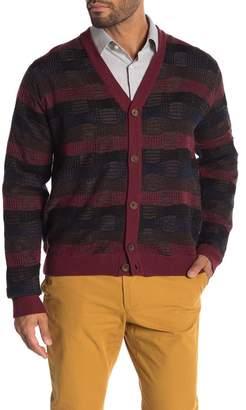 Robert Graham Bauta Plaid Knit Cardigan