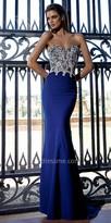 Tarik Ediz Lorenza Evening Dress