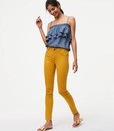LOFT Tall Modern Unpicked Skinny Ankle Jeans