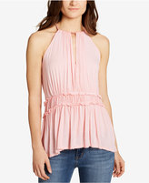 William Rast Bentley Peplum Top