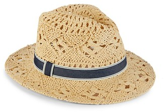 Hat Attack Open-Weave Straw Rancher