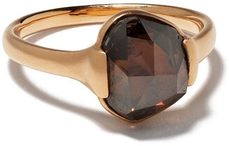 White Bird 18kt rose gold diamond Grace ring