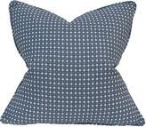 Barclay Butera Danielle 22x22 Linen Pillow, Graphite