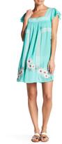 Shoshanna Bohemian Embroidered Dress