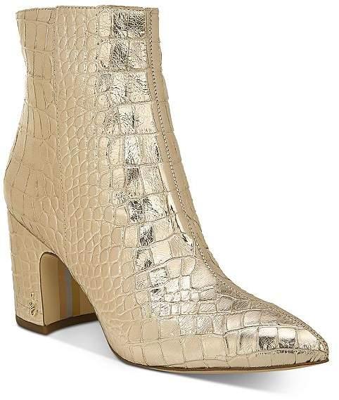 Sam Edelman Women's Hilty Block Heel Booties