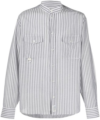 Golden Goose Long-Sleeved Striped Shirt
