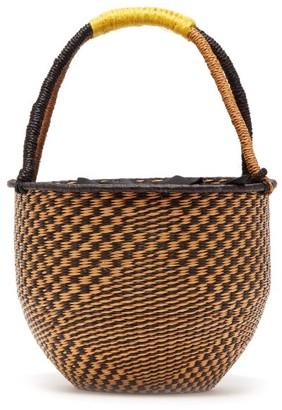 Sensi Studio - Woven Basket Bag - Womens - Black Multi