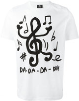 Paul Smith music notes print T-shirt