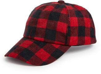 Treasure & Bond Buffalo Check Baseball Hat