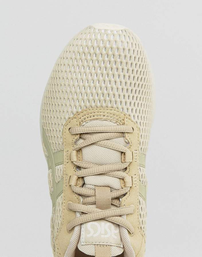 Asics Mesh Gel-Lyte Runner Sneakers In Beige