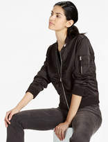 Lucky Brand Ruched Bomber