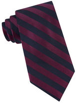 Calvin Klein Striped Silk-Blend Tie