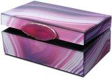 Mikasa Glass Jewelry Box