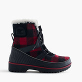 Sorel Women's for J.Crew TivoliTM boots in buffalo check