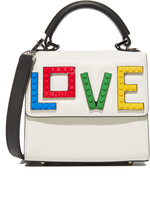 Les Petits Joueurs Alex Rainbow Love Micro Cross Body Bag
