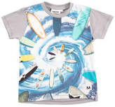 Molo Runi Short-Sleeve Surfing T-Shirt, Size 4-10