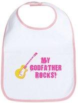 CafePress - Rock On! Godfather - Cute Cloth Baby Bib, Toddler Bib