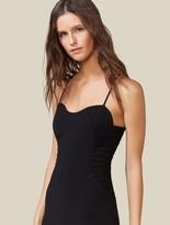 Halston Side Strip Dress