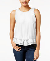 Maison Jules Ruffle-Hem Top, Only at Macy's