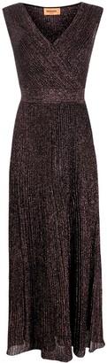 Missoni Pleated Wrap Dress