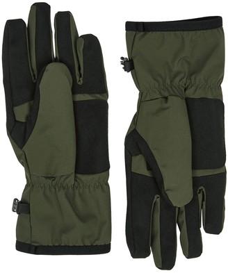 Stone Island Army green Polartec gloves