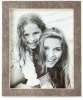 "AERIN Classic Chocolate Faux-Shagreen Frame, 8"" x 10"""