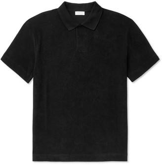 Sunspel Cotton-Terry Polo Shirt