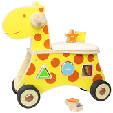 Unbranded Baby Ride-On Giraffe Shape Sorter