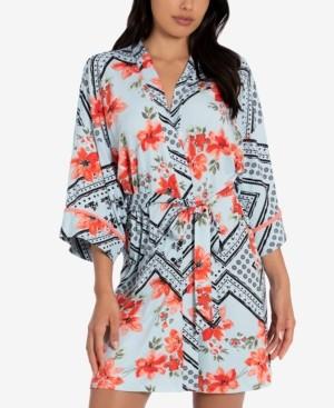 Linea Donatella Printed Wrap Robe