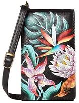 Anuschka Smartphone Crossbody - 1154 (Butterfly Heaven) Handbags