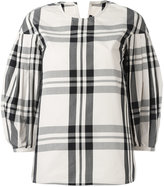 Sofie D'hoore checked top - women - Cotton - 36