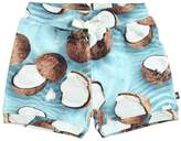 Molo Coconut Printed Cotton Shorts