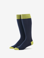 Tommy John Fashion Contrast Over the Calf Dress Sock
