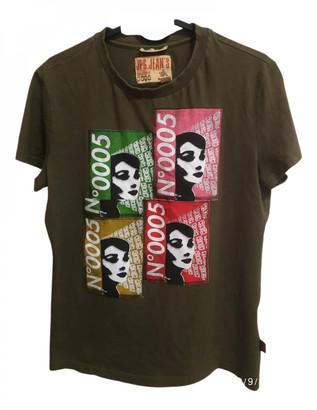 Jean Paul Gaultier Green Cotton T-shirts