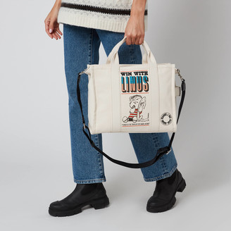 Marc Jacobs Women's The Tote Bag Peanuts Americana - White Multi